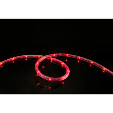 meilo 16 ft red all occasion indoor outdoor led rope light 360 red all occasion indoor outdoor led rope light 360 directional shine decoration