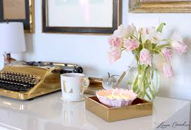 How To Decorate A Desk Inspired Idea How To Decorate With Candles Lauren Conrad