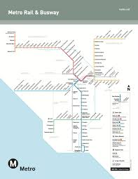 Los Angeles Airport Map by Updated Official Map Los Angeles Metro Rail U0026 Transit Maps
