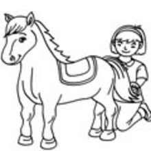 horse coloring pages drawing kids reading u0026 learning