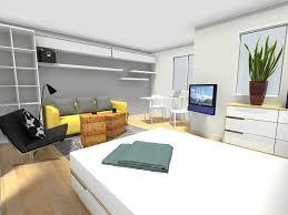 wohn schlafzimmer einrichtungsideen ideen kleines wandfarbe wohn und schlafzimmer die besten 25
