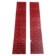 small red brick fireplace tiles from victorian fireplace store