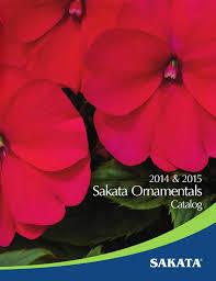 sakata ornamental catalog 2014 by morando issuu