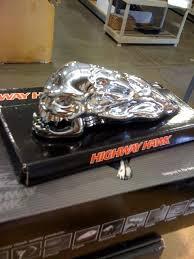 highway hawk skull fender ornament cruiser community