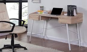 Oak Effect Computer Desk Salisbury Desk Oak Effect Groupon Goods