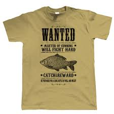 gift for dad wanted poster mens fishing t shirt carp coarse gift for dad him