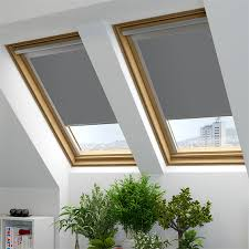 Roof Window Blinds Cheapest Great Velux Bloc Loft Blinds The Blind Factory Leeds With Regard
