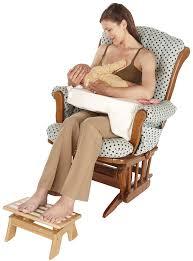 Rocking Chair For Breastfeeding Amazon Com My Brest Friend Adjustable Nursing Stool Wood
