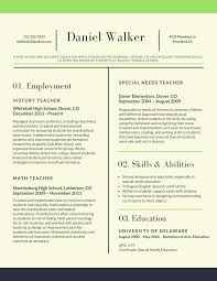 Free Creative Resume Templates For Mac Pleasant Best Teacher Resume Example Livecareer Resumes Templates