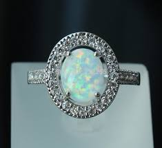 turquoise opal engagement rings online shop amazing oval white fire opal engagement rings