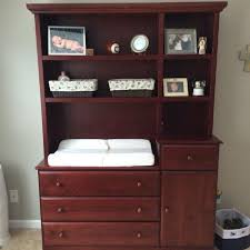 stylish dresser changing table combo with hutch m41 for your