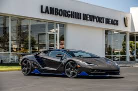 car lamborghini blue lamborghini centenario delivered to first u s customer motor trend