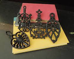 Decorative Metal Trivets Cast Iron Trivet Etsy