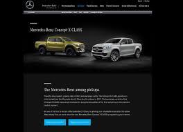mercedes benz to display x class concept in geneva european
