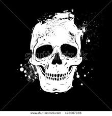 Day Of The Dead White Black And White Skull Stock Images Royalty Free Images U0026 Vectors