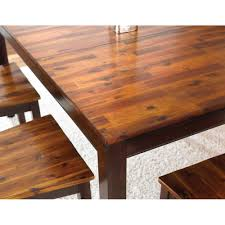 steve silver ab300t ab200ptb abaco table in cordovan cherry with