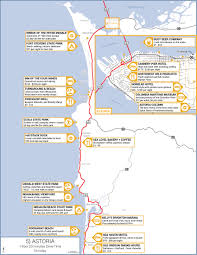 Usa Highway Map What To Do In Astoria Oregon Travel Astoriawarrenton History And