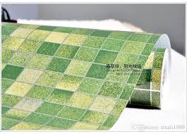 bathroom waterproof wall sticker pvc mosaic tile wallpaper kitchen