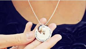 Hand Stamped Necklace Hand Stamped Personalized Necklace 13 50 Southern Savers