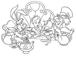 mad tea party alice wonderland mad tea parties