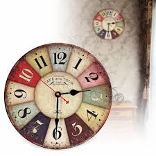 online buy wholesale retro wall clocks uk from china retro wall