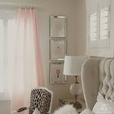 Pink Gold Bedroom Pink And Gold U0027s Bedroom Makeover Randi Garrett Design