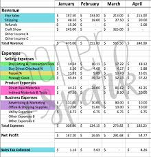 Money Spreadsheet The Bestselling Etsy Seller Spreadsheet Paper Spark