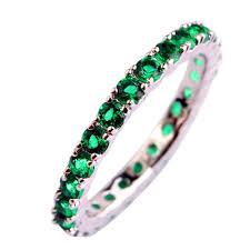 size 7 13 2015 new 18k plated classic gold men rings black fashion green zircon silver rings women qat jewellery