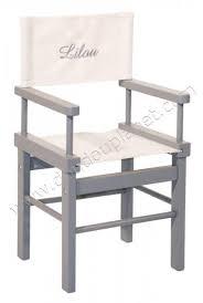 siege metteur en moulin roty fauteuil metteur en scène gris
