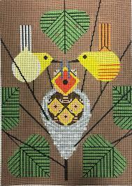bird needlepoint