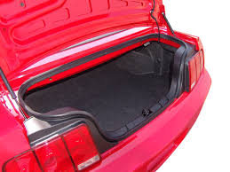 mustang convertible trunk 2005 ford mustang convertible road test review automobile