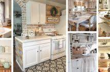 cottage style kitchen designs 23 best cottage kitchen decorating ideas and designs for 2018