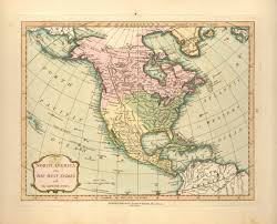 North America Map by Antique Maps Of 19th Century North America