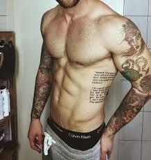Mens Rib - rib tattoos for tatoo and tatting