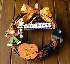 craft ideas for halloween door wreath interior design ideas