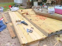 How To Make A Table Out Of Pallets Remodelaholic Build A Wooden Pallet Deck For Under 300