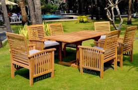 Cheap Patio Dining Sets Indonesian Teak Table Outdoor Patio Dining Set W 5 Chairs U2013 San