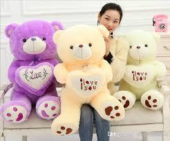 big teddy bears for valentines day 2017 hot sale 50cm big plush teddy valentines day i