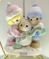 precious moments our together 2013 ornament