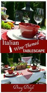 themed tablescapes dining delight italian wine themed tablescape summer