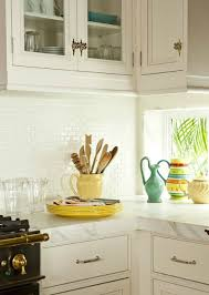 Cottage Style Kitchen Accessories - sophisticated sunset key florida home filled with sunny yellow