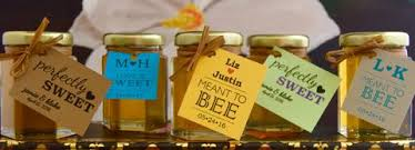 wedding corporate favors san diego honey company