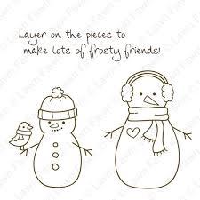 making frosty friends lawn fawn