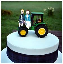 tractor wedding cake topper cake toppers all things heinous trashy and hilarious in weddings