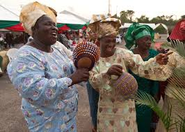 a yoruba wedding part 1 instruments and musicians