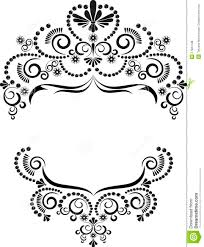 decorative frame ornament graphic arts royalty free stock photos
