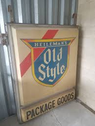 vintage lighted beer signs vintage 5ft outdoor hanging lighted beer sign collectibles in
