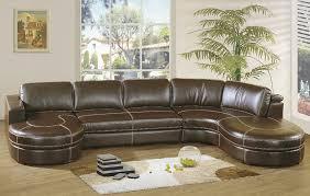 U Sofas Furniture Leather U Shape Sectional Sofa Design With Laminate