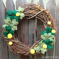 s day wreaths made st s day wreath