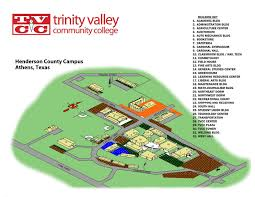 Athens Map Trinity Valley Community College
